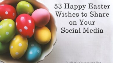 Photo of 53 Happy Easter Wishes to Share on Your Social Media