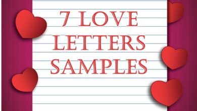 Photo of 7 Love Letters Samples & Ideas