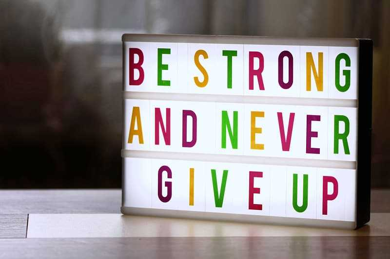Quotes Not to Give Up