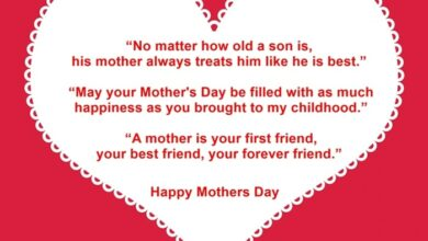 Photo of Happy Mothers Day Quotes & Sayings From Son Filled with Love