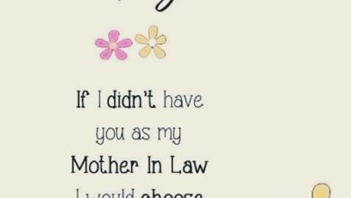 Photo of 45 Happy Mother's Day Quotes & Messages for Mother in Law